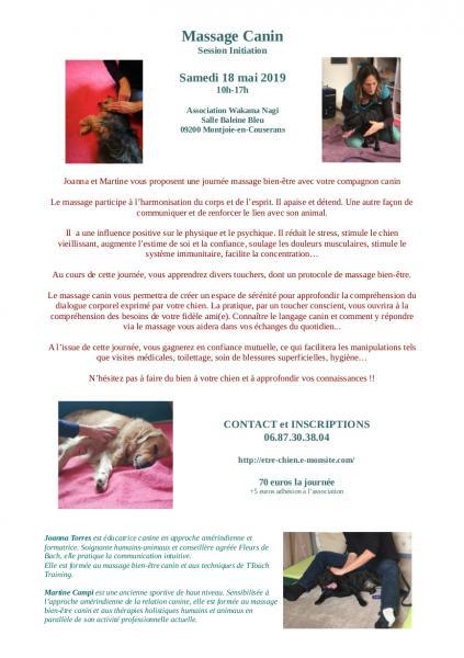 Journee massage canin