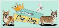Logo team cap dog