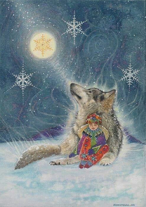 Loup lune petit dhomme